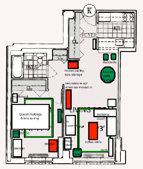 furniture floor plan