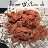 Cinnamon Pecans - to the Rescue