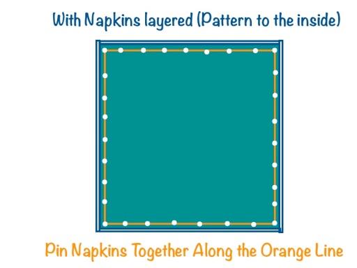 napkin pillow 1