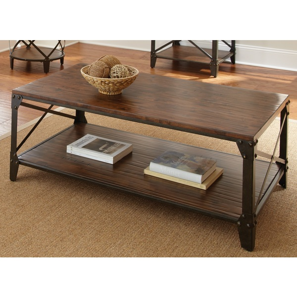 windham solid wood and iron coffee table d33cca87 shattered plans tickled in nyc