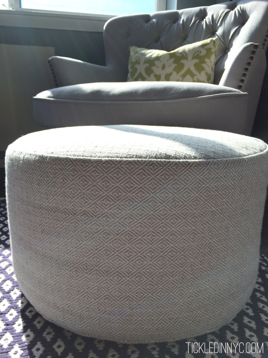 DIY: How to Sew a Pouf Cover