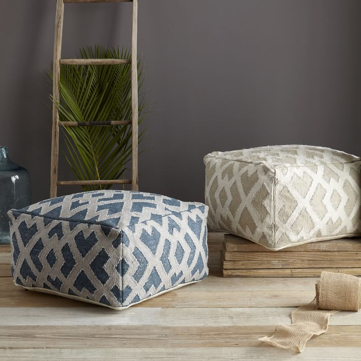 DIY How To Sew A Pouf Cover Tickled In NYC Classy Sew A Pouf