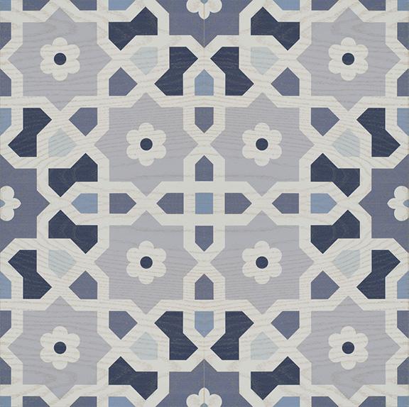 patternedindetroitwallpapersmoroccocolofuldesign-thisdecorativevinylfloordecalstickerisaneasytemporarysolutionforfloorsmirthstudioperfectfordorms