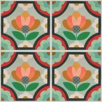 patternedinourblossomfloraldesign-thisdecorativevinylfloordecalstickerisaneasytemporarysolutionforfloorsmirthstudioperfectfordorms