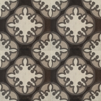 patternedinourcafedesignblackwhiteandgrey-thisdecorativevinylfloordecalstickerisaneasytemporarysolutionforfloorsmirthstudioperfectfordorms