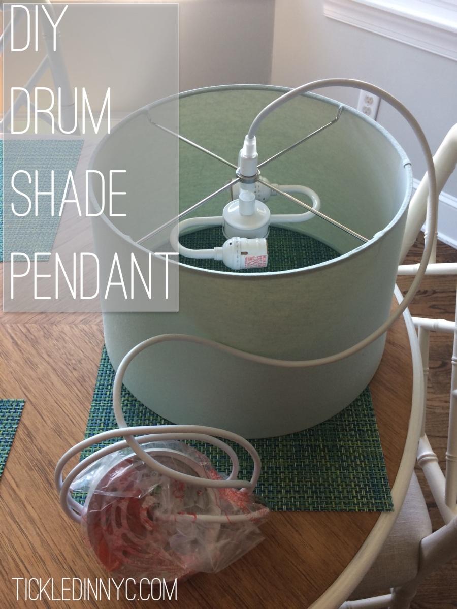 Drum Pendant DIY