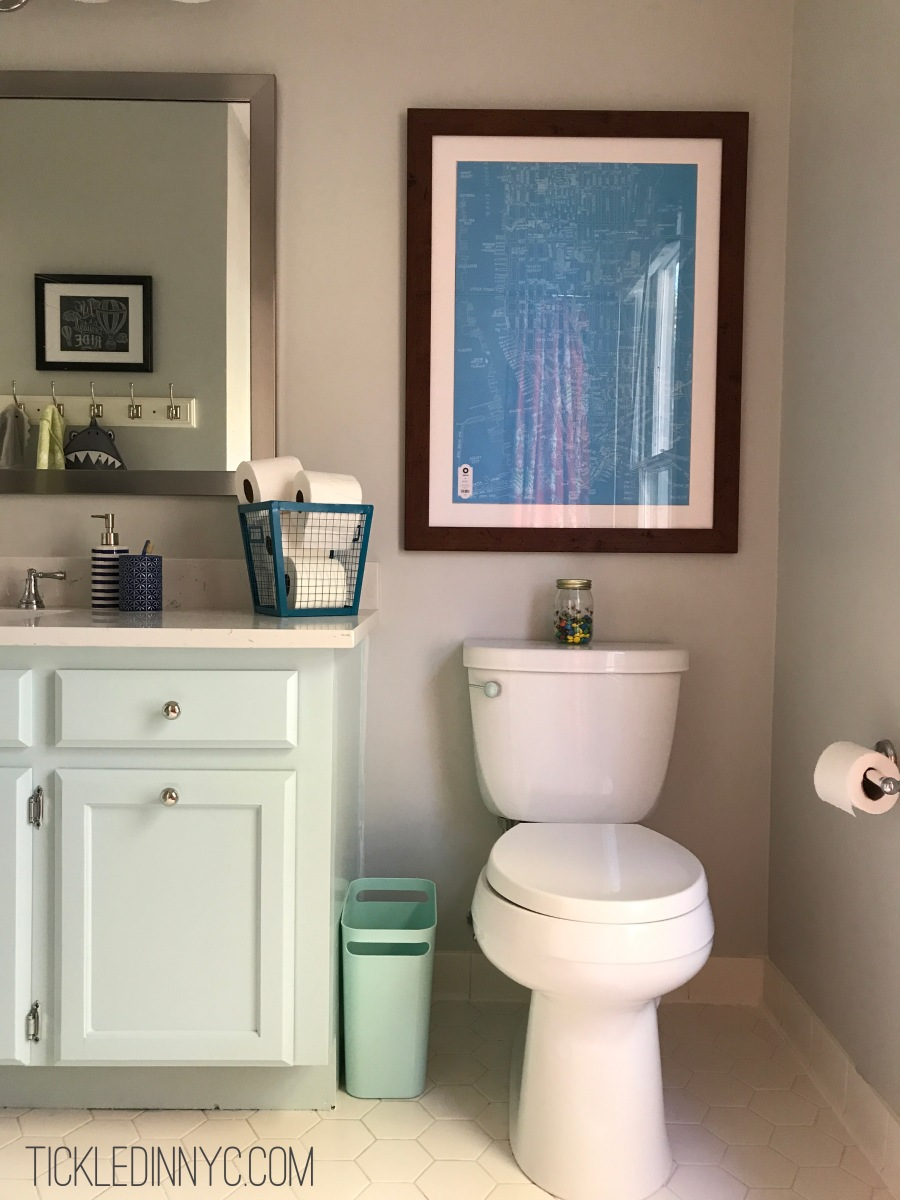 Hello there, Guest Bathroom: The Reveal